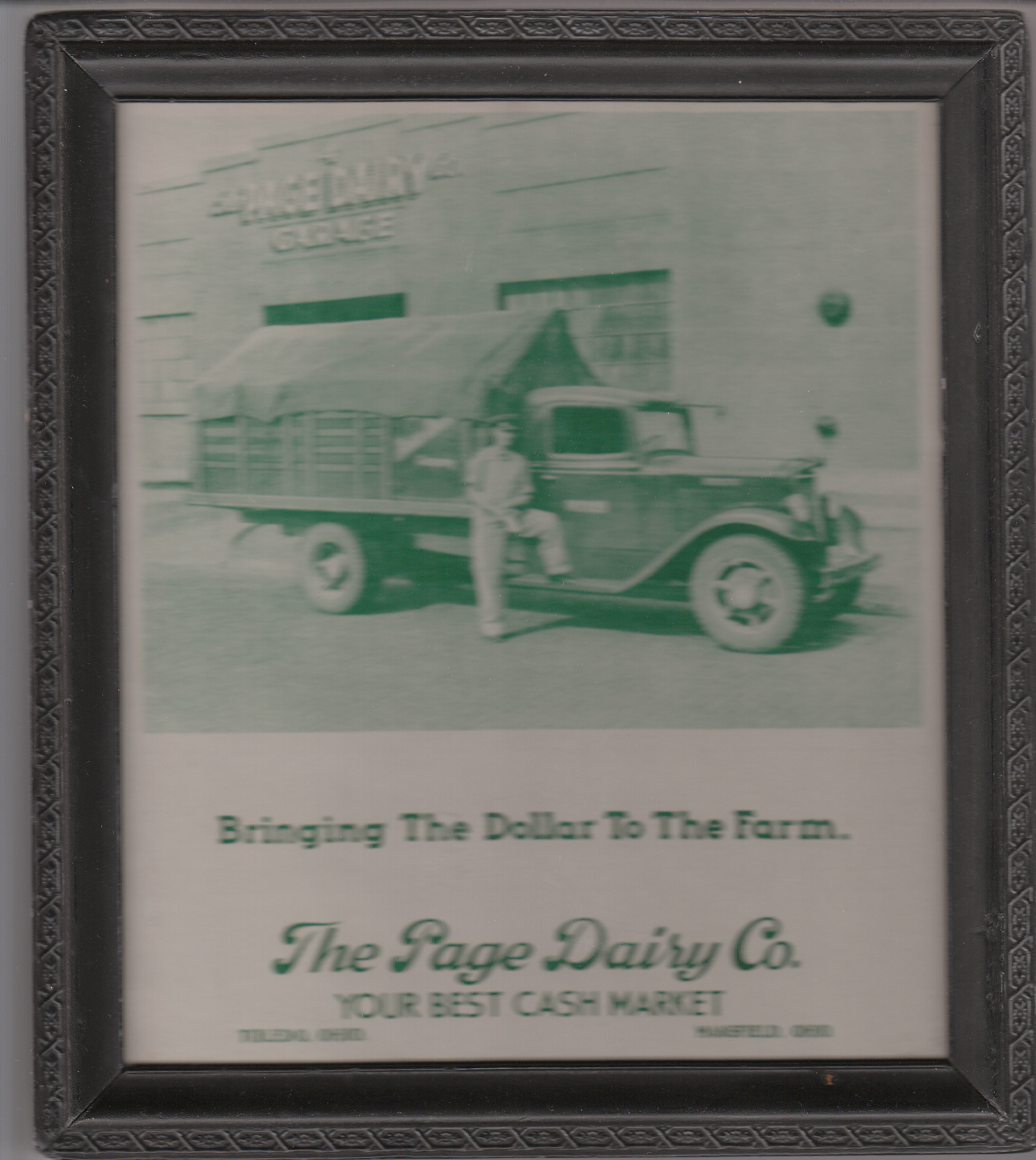 Advertisement for Farmers - Bringing the  Dollar to the Farm