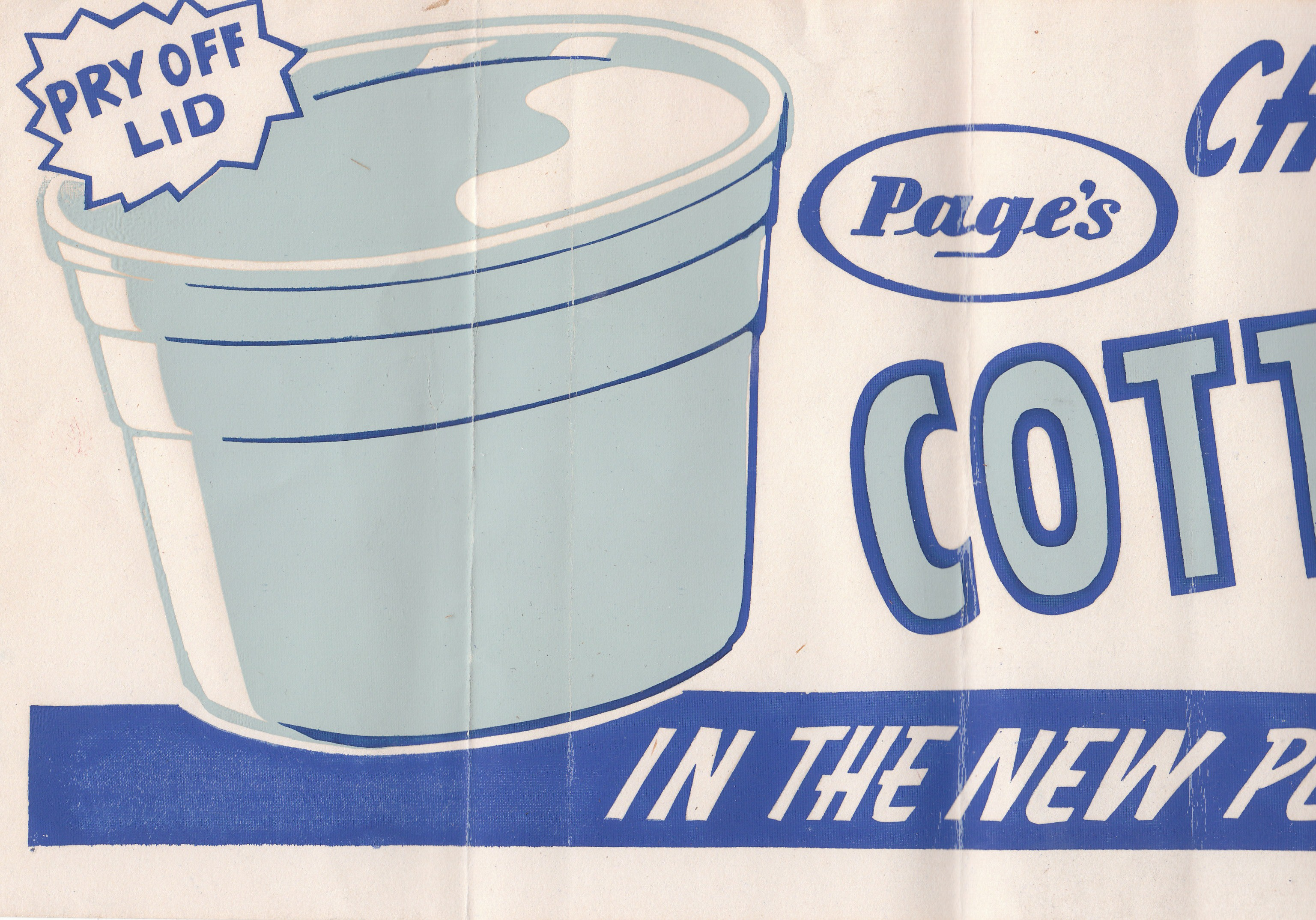 Page Dairy Cottage Cheese Advertisement (2)