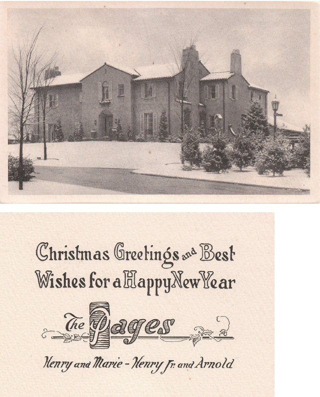 Christmas Card - Brookside House