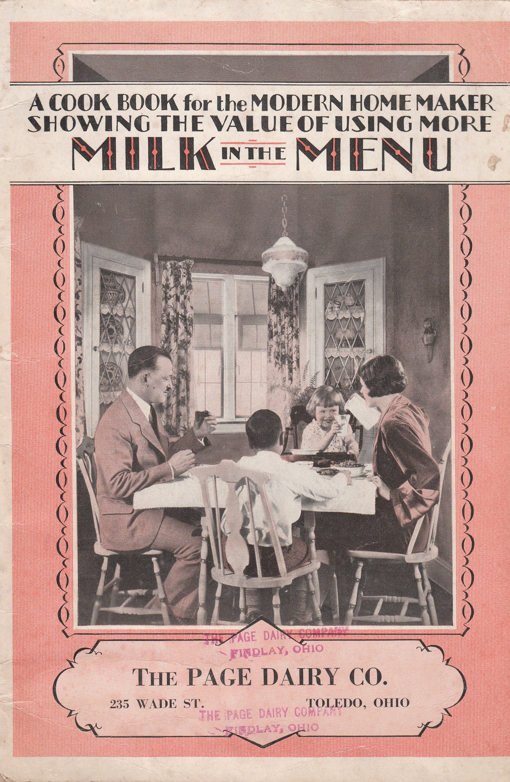 Cookbook for the Modern Home 1928