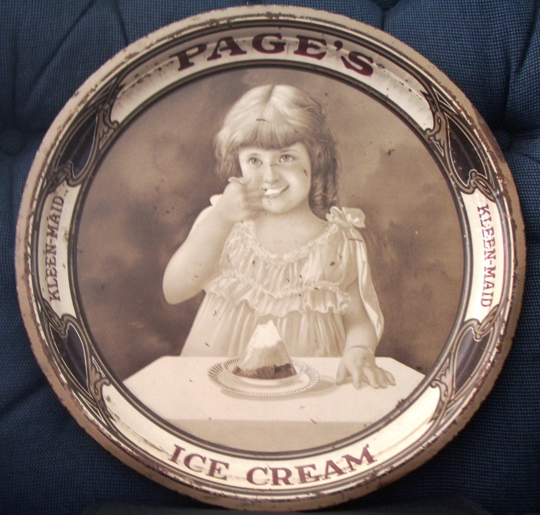 Kleen Maid Ice Cream Tray