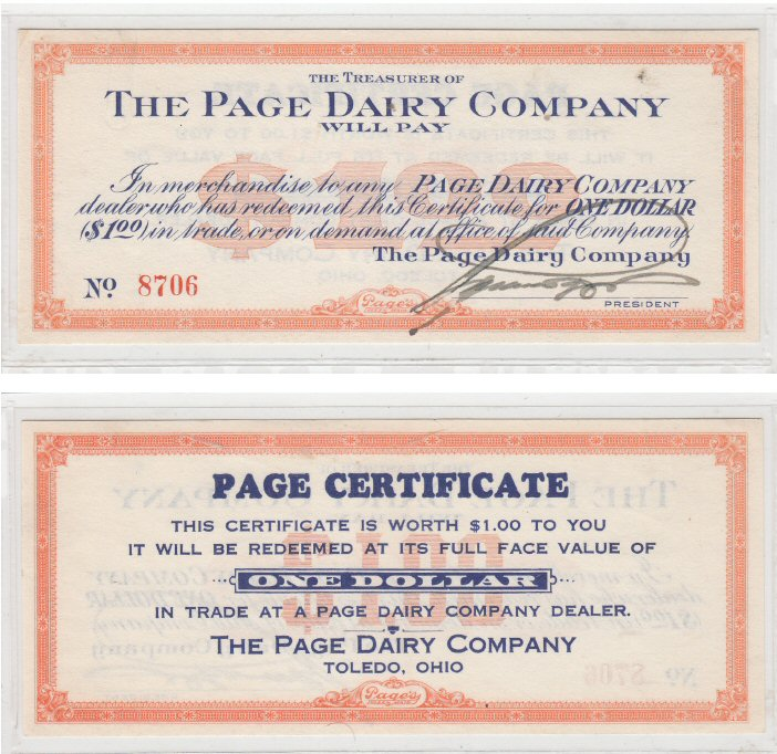 Page Dairy $1 Certificate (18)