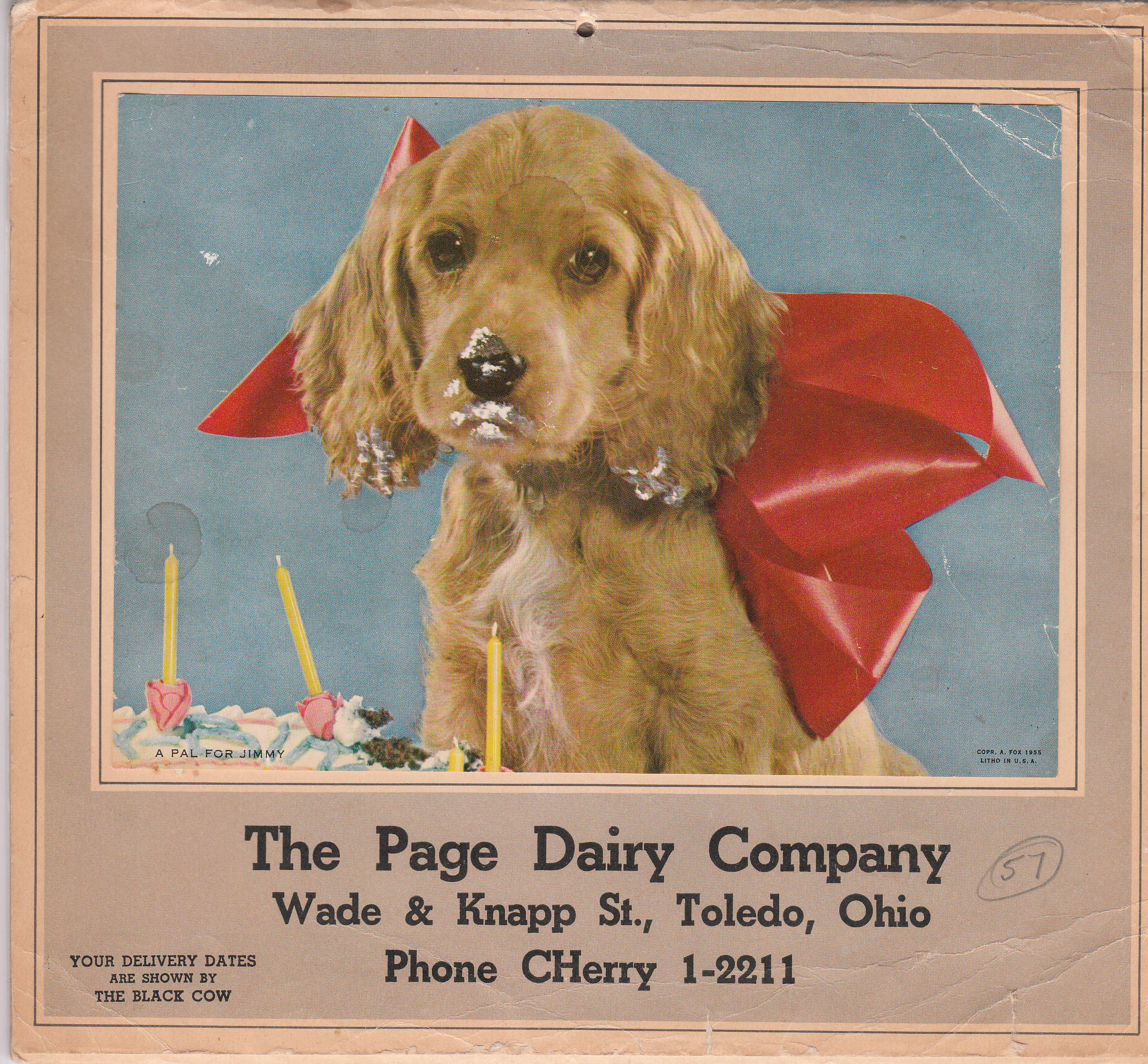Page Dairy Calendar 1957 (2)