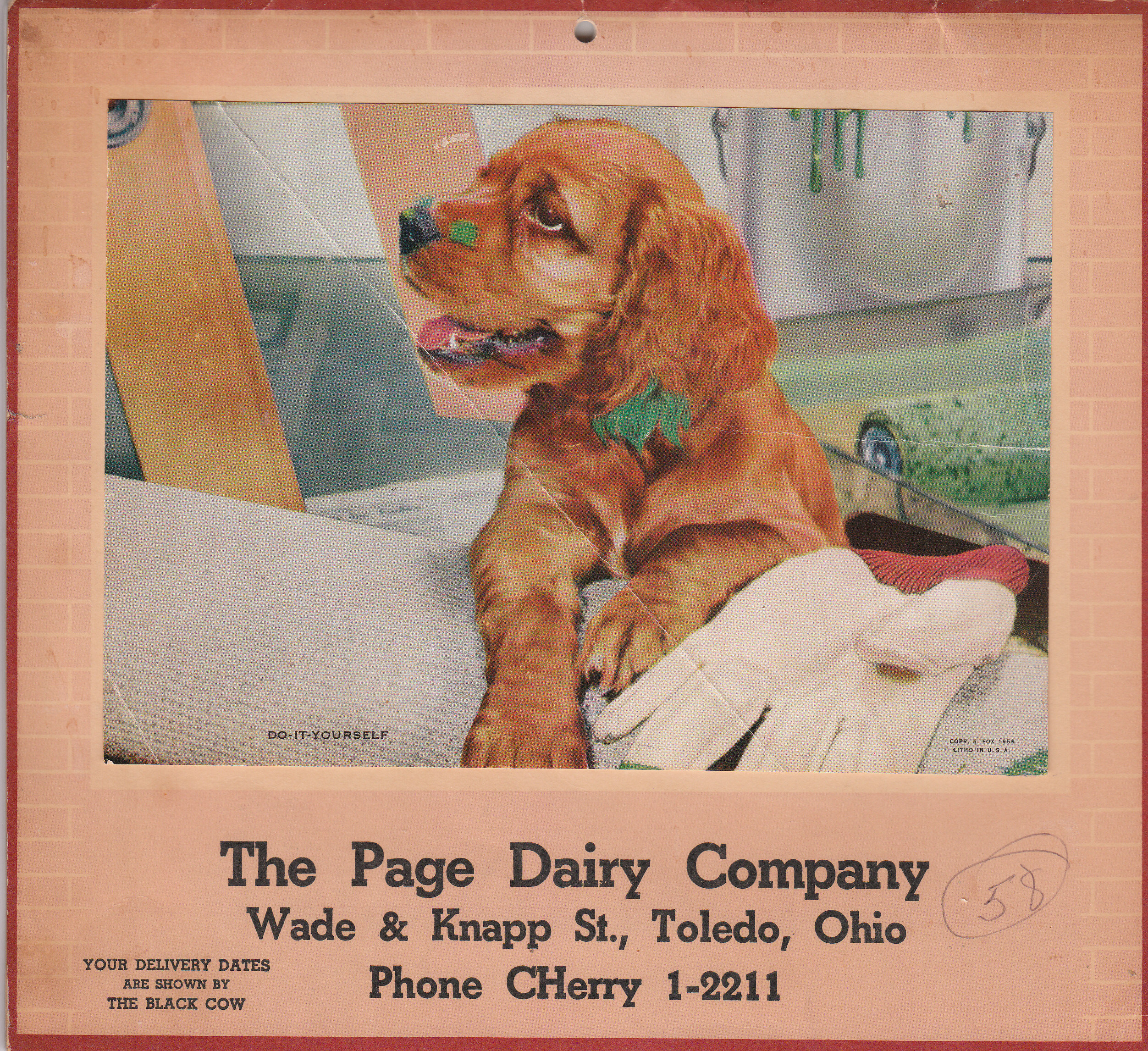 Page Dairy Calendar 1958 (2)