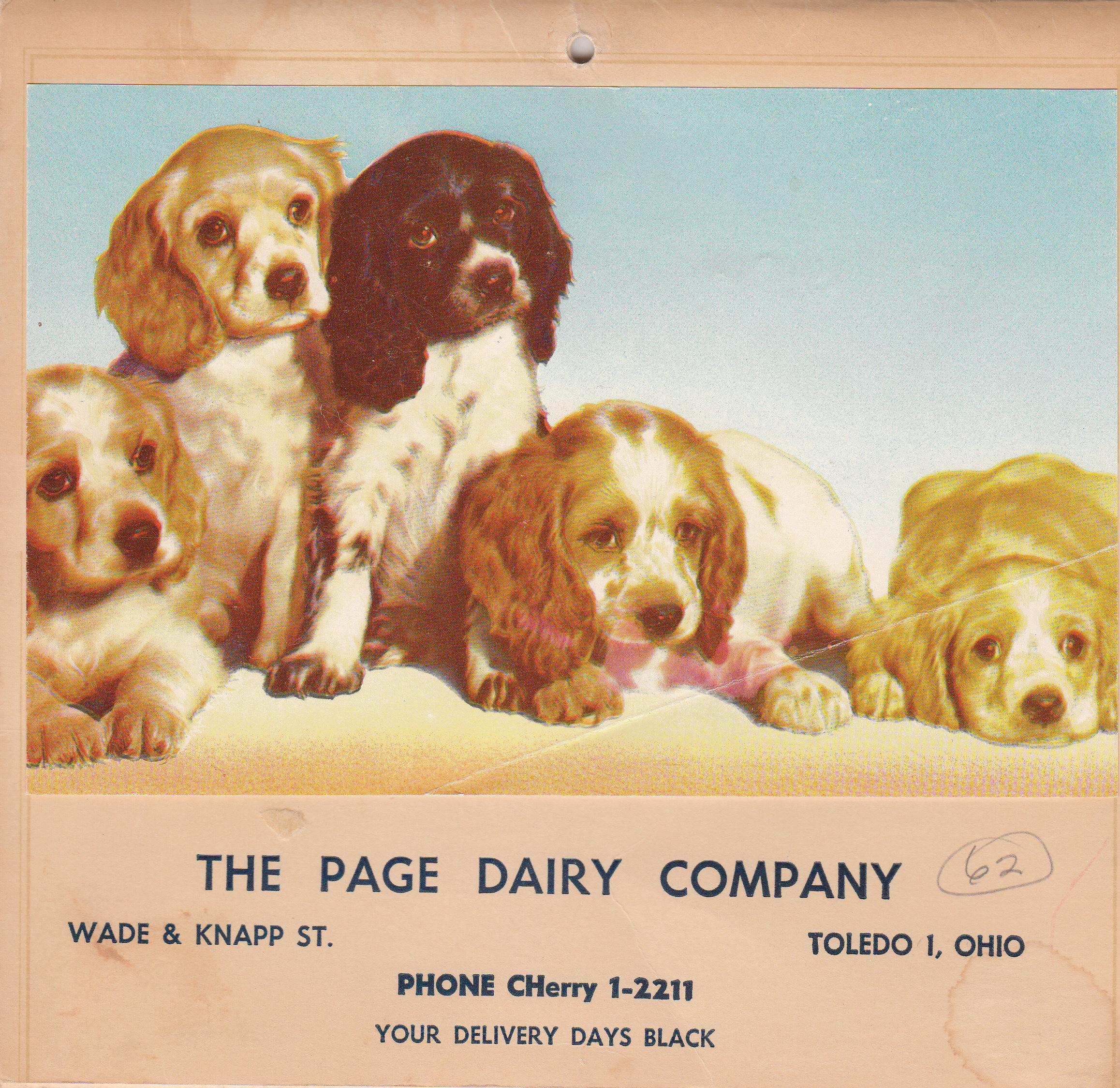 Page Dairy Calendar 1962 (2)