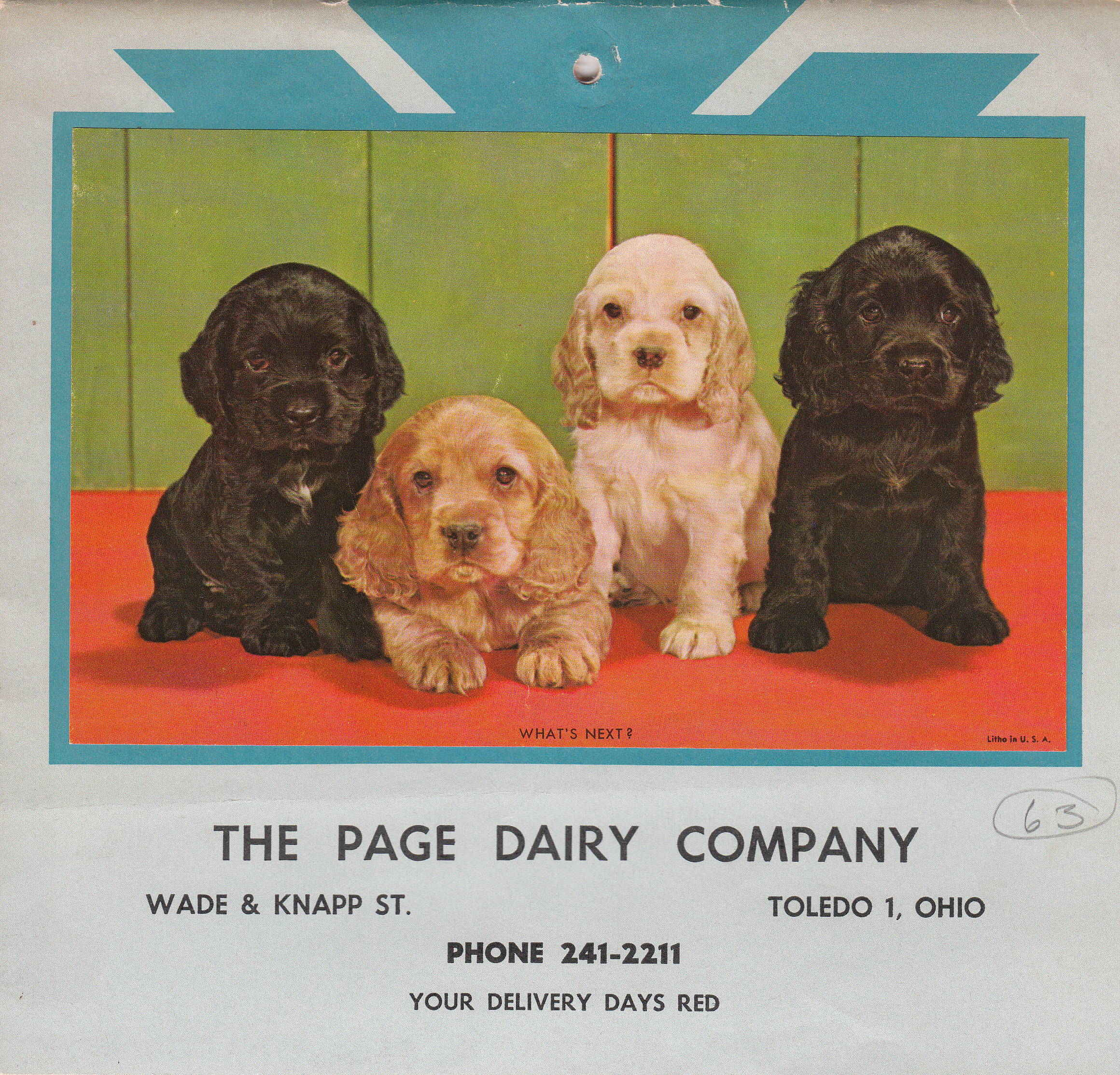 Page Dairy Calendar 1963 (3)