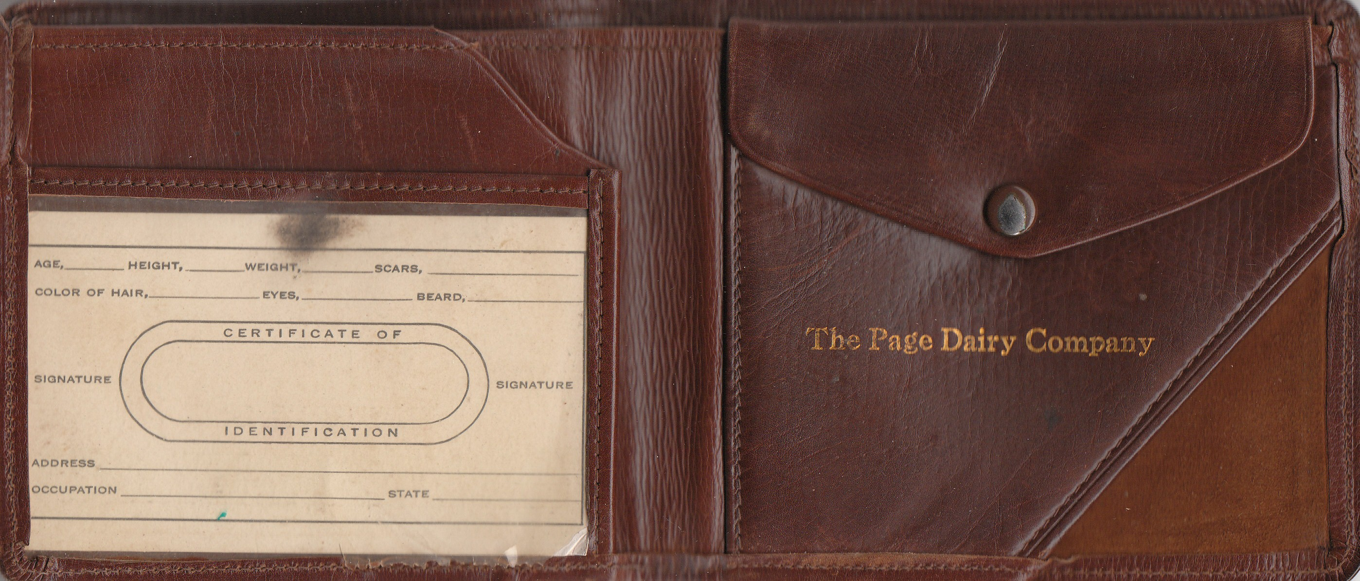 Page Dairy Milkman Wallet