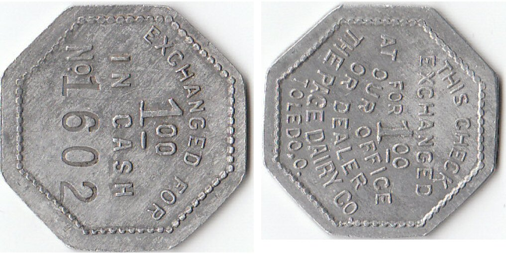 Page Dairy Tokens