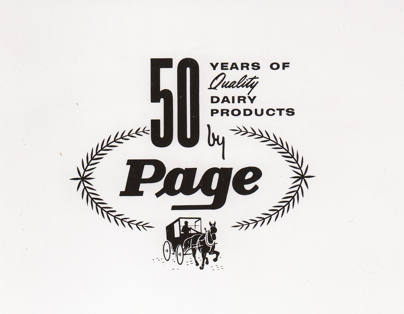 Page\'s 50 Year of Quality Products Stickers