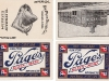 Page Dairy Playing Cards - Blue - Joker and Building