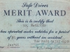 Page Dairy Safe Driver Merit Award - Wm McFadden Jan 1966