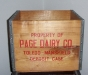 Page Dairy Wooden Milk Case 2