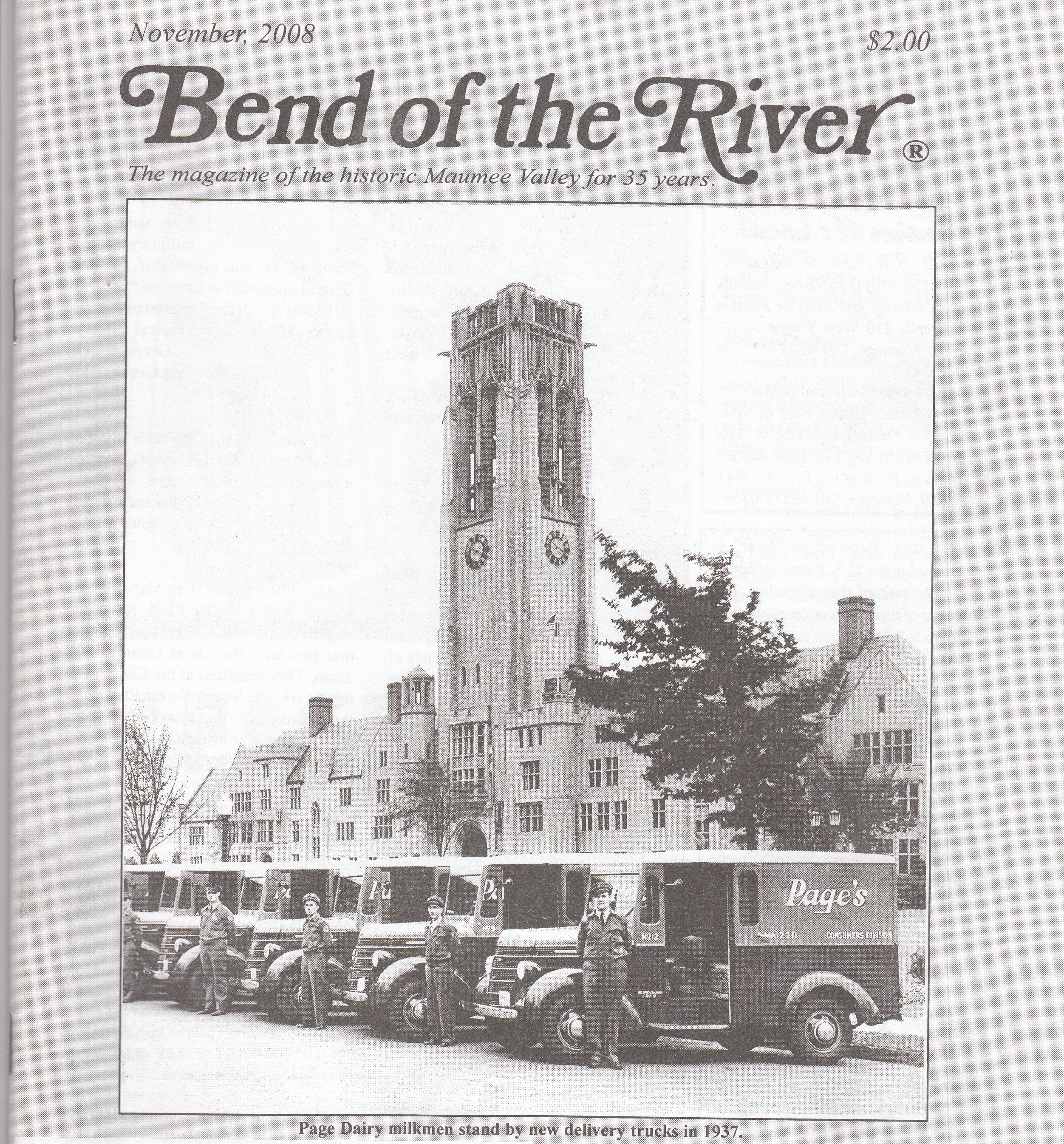 Bend of the River Magazine November 2008