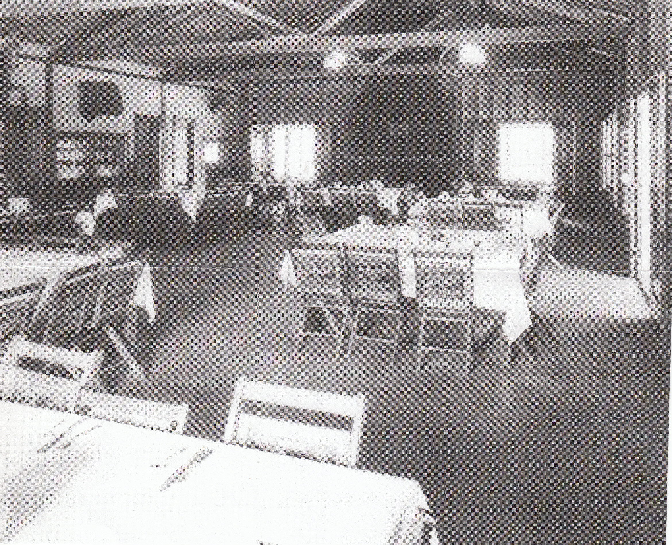 Camp Miakonda Dining Hall with Page Chairs