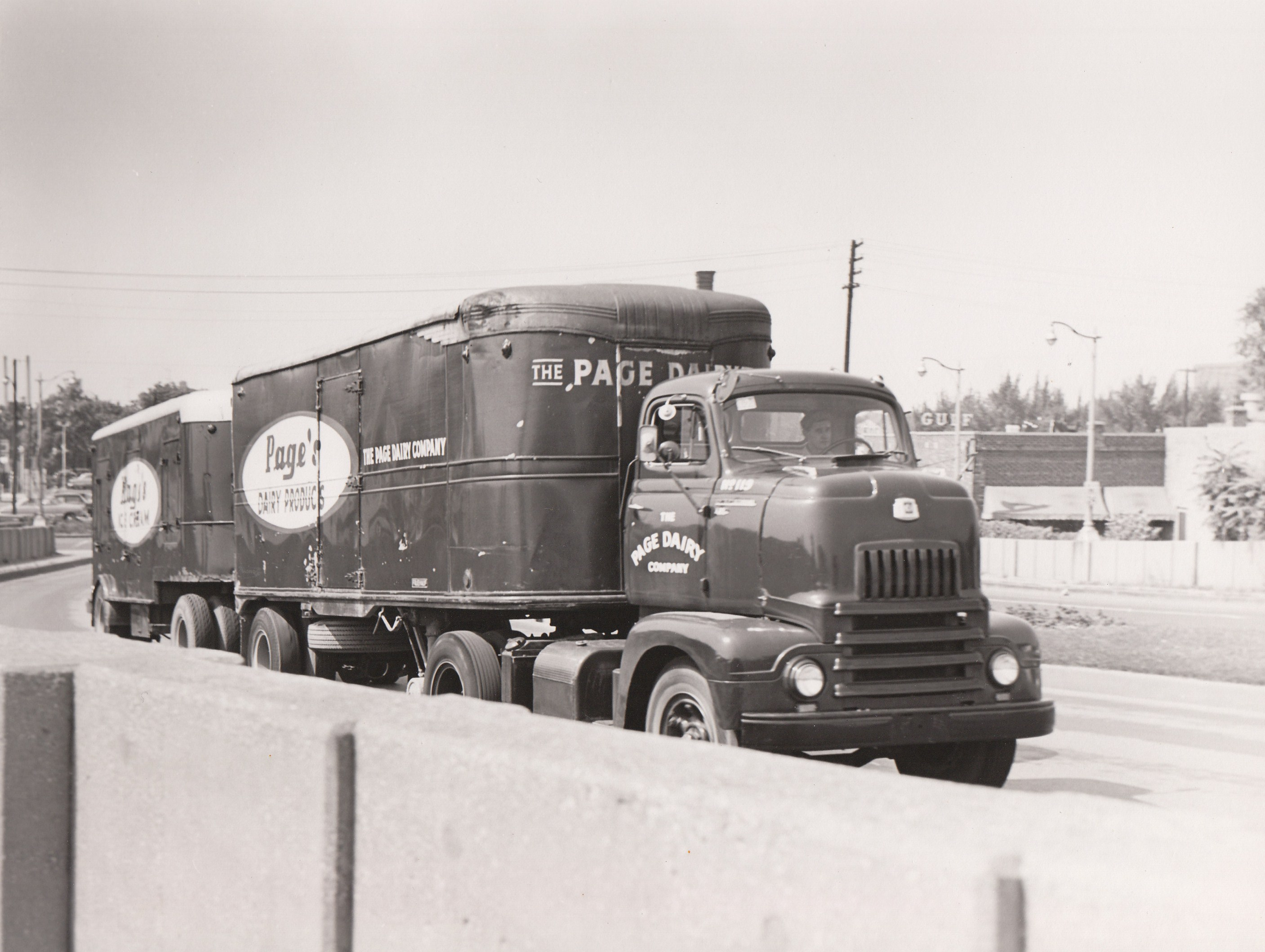 Page Dairy Tractor Trailer
